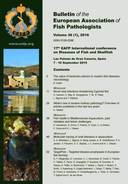 EAFP Bulletin 36(1) Cover