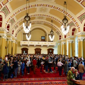 Civil reception at Belfast City Hall