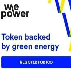 WePower ICO blockchain based green energy trading platform