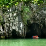 Puerto Princesa: Boating on the Underground River