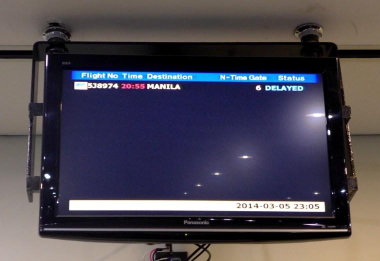 Delayed Cebu Pacific Flight