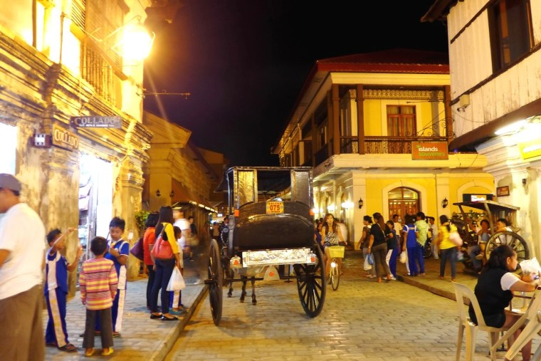Calle Crisologo, Vigan Itinerary