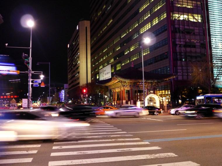 Gwanghwamun Plaza, Seoul, South Korea