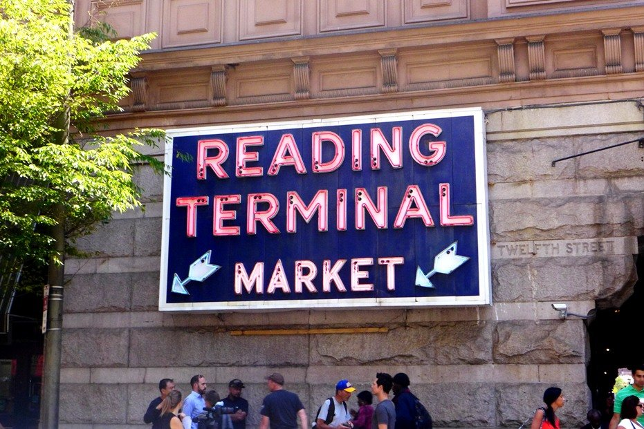 Tummy Travel: Reading Terminal Market