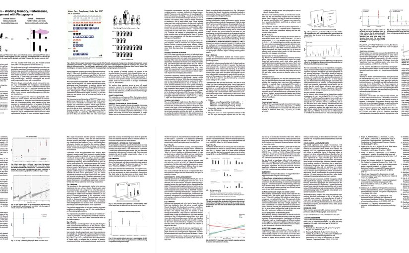 Paper: ISOTYPE Visualization – Working Memory, Performance, and Engagement with Pictographs