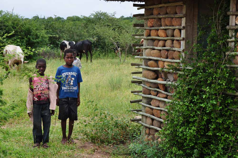 Children of Massingir, Mozambique
