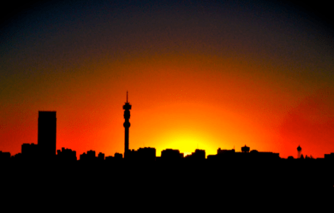 Johannesburg sunset