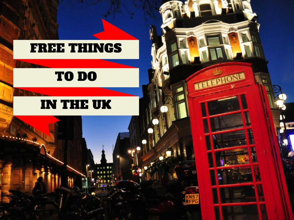 10 FREE things to do in the UK