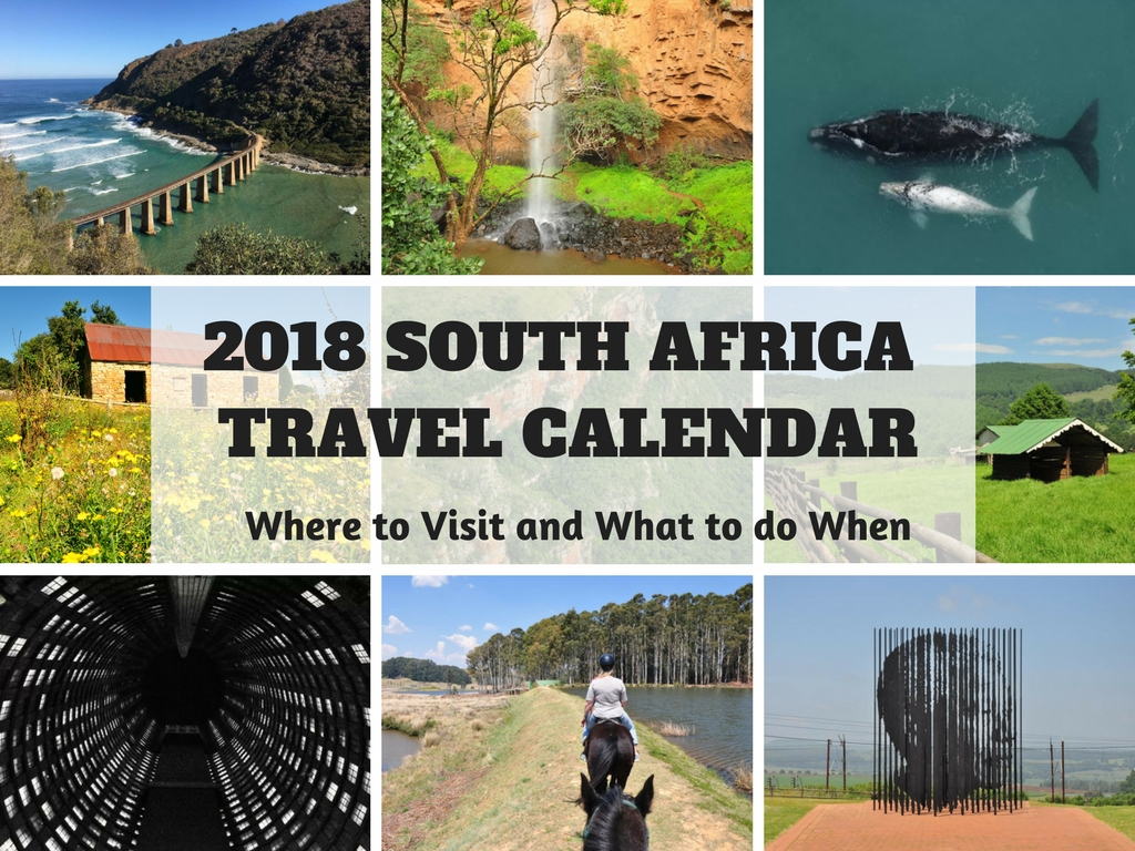 2018 South Africa Travel Calendar: Where to Visit and What to do When