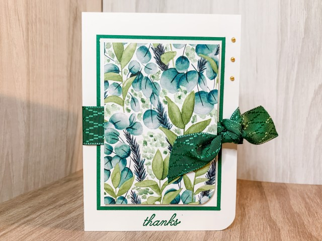 Shaded Spruce Thank You Card