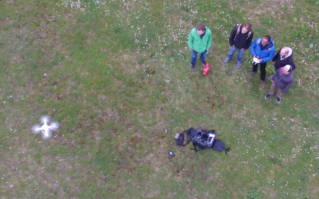 UAV application for remote sensing course started