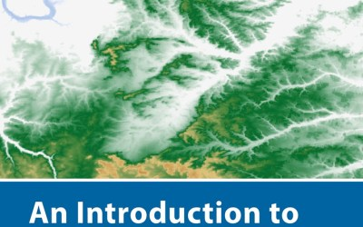 """new book by our lecturer """"Intro to Spatial Data Analysis"""""""