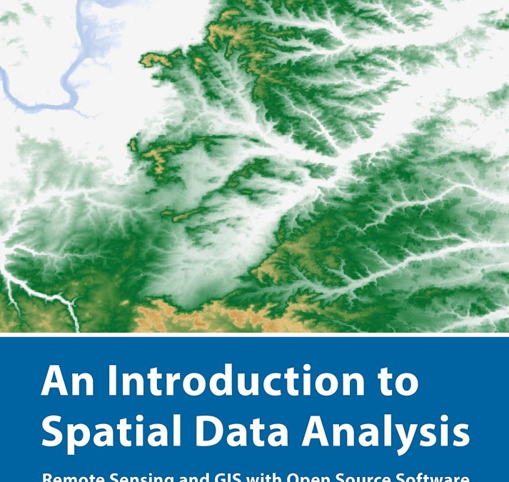 "new book by our lecturer ""Intro to Spatial Data Analysis"""