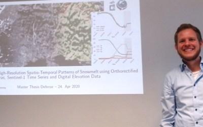 Sebastian Buchelt successfully presented his MSc thesis
