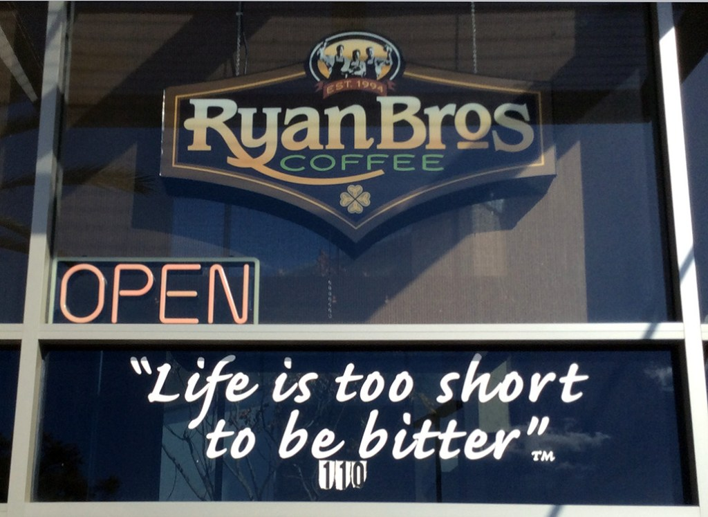 Ryan Bros Sign