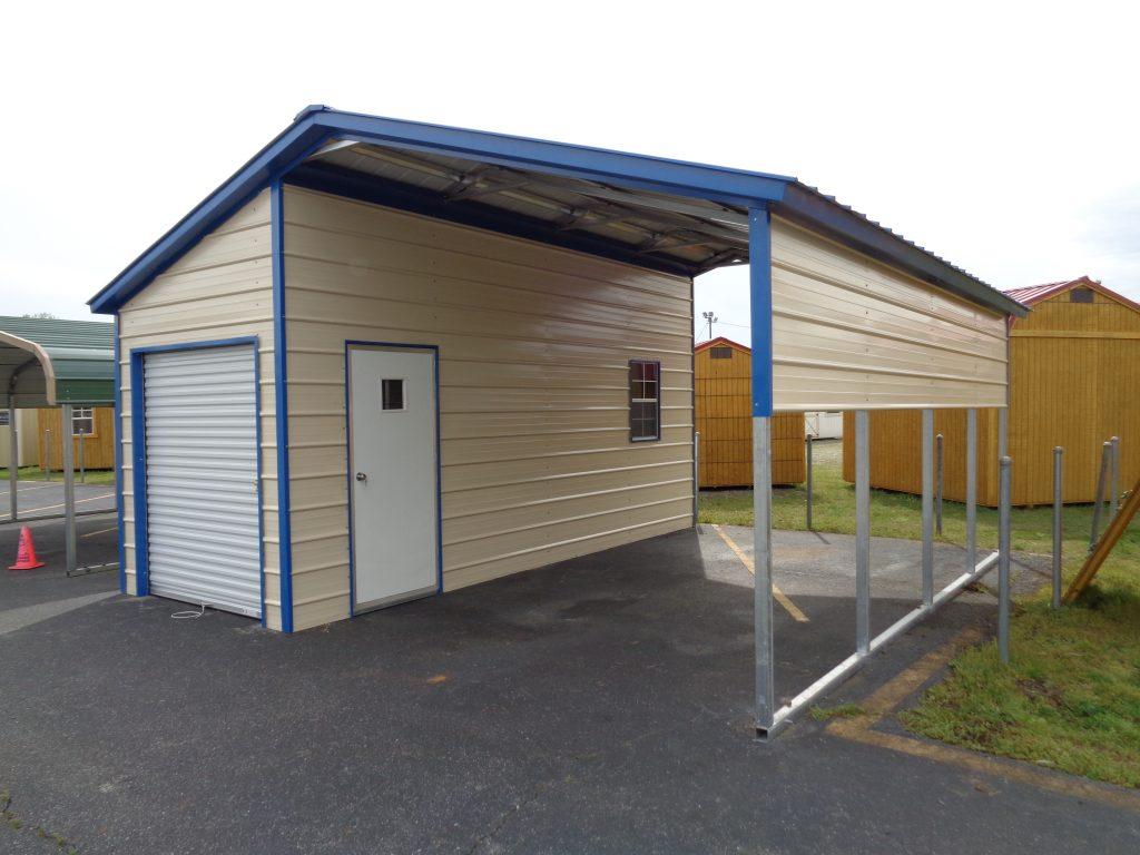 Carport With Attic Storage Novocom Top