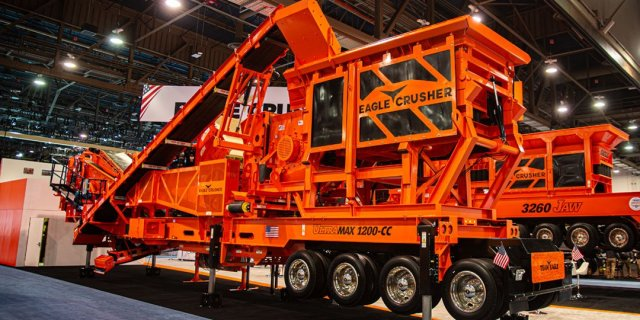 Everything You Need to Know About Eagle Crusher's New 1200-CC with Pre-Screen Feeder