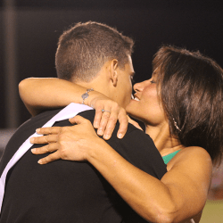 Homecoming court brings surprises and emotions