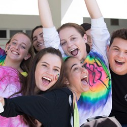 (Photo Gallery) Students participate in Wacky Wednesday lunch activities