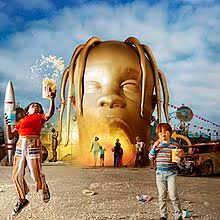 "Album cover of ""Astroworld"" by Travis Scott."