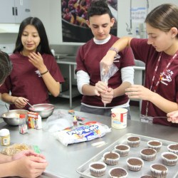 "Culinary 1 students compete in their own version of ""Cupcake Wars"""