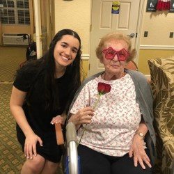 Key Club throws prom for residents at Aston Gardens