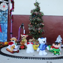 MSD staff take part in Polar Express-themed door contest