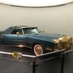 Isaac Hayes' customized Cadillac Eldorado.
