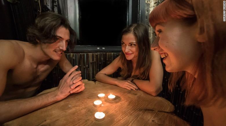 Sodom & Gomorrah!!! A Naked Restaurant Opens in London