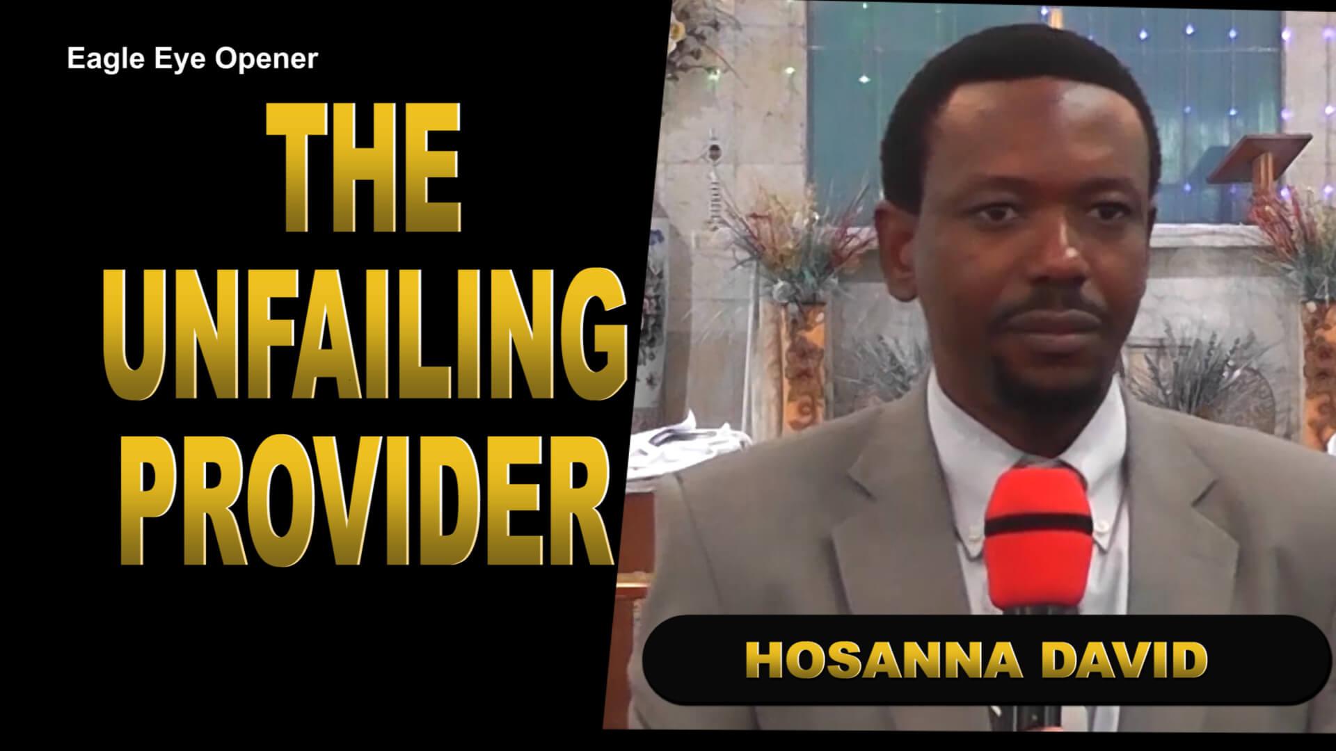 The Unfailing Provider (Sermon)