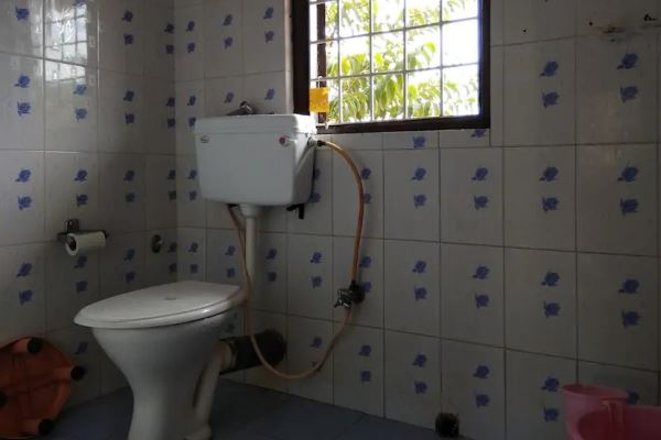 Shower and Toilet in Dutta's Residency