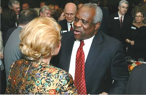 Phyllis Schlafly and Clarence Thomas