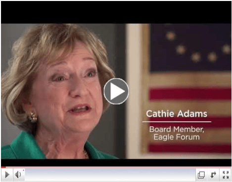 Click for Carhie Adams' Eagle Forum story.