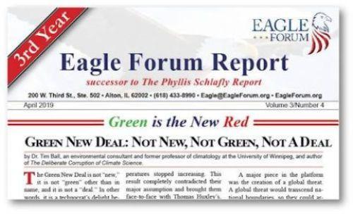 April 2019 Eagle Forum Report