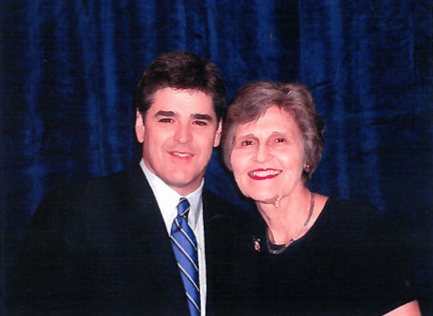 Eunie Smith with Sean Hannity in Sept. 2002 at Eagle Council in Washington, D.C.