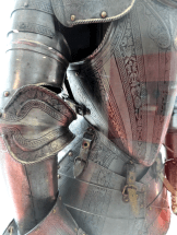 That is indeed a suit of armor