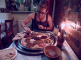 ETHIOPIAN: birthday dinner
