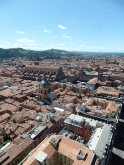 The view of Bologna