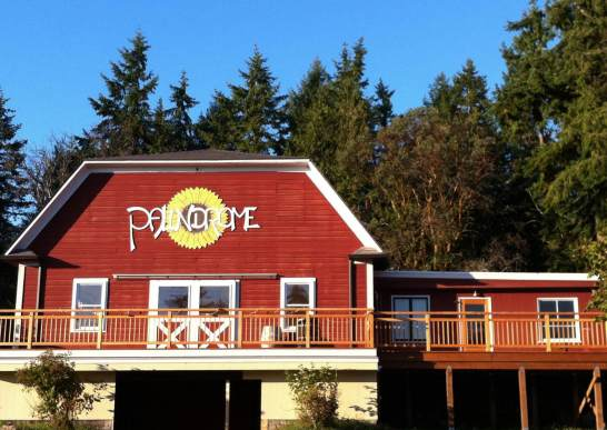Summertime at the Palindrome Tasting Room