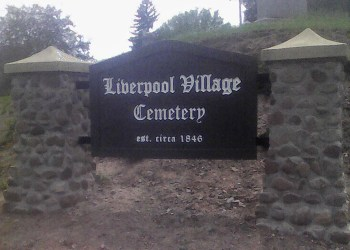 Liverpool Village Cemetery (Photo by Russ Tarby)