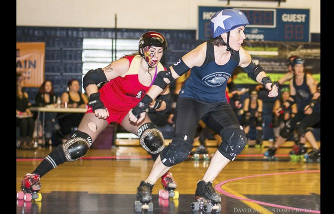 Gorge Roller Girls Showdown | The Dalles Chronicle