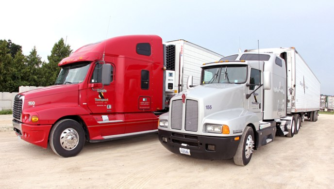Eagle Transport Tractor and Refrigerated Trailer Leasing