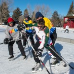 Huskies Hockey Pond Hockey Championships Fundraiser Eagleoutside