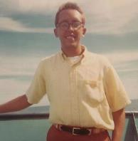 author in Hawaii, 1967