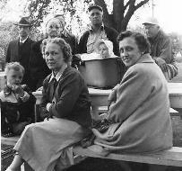 Author's family in 1952