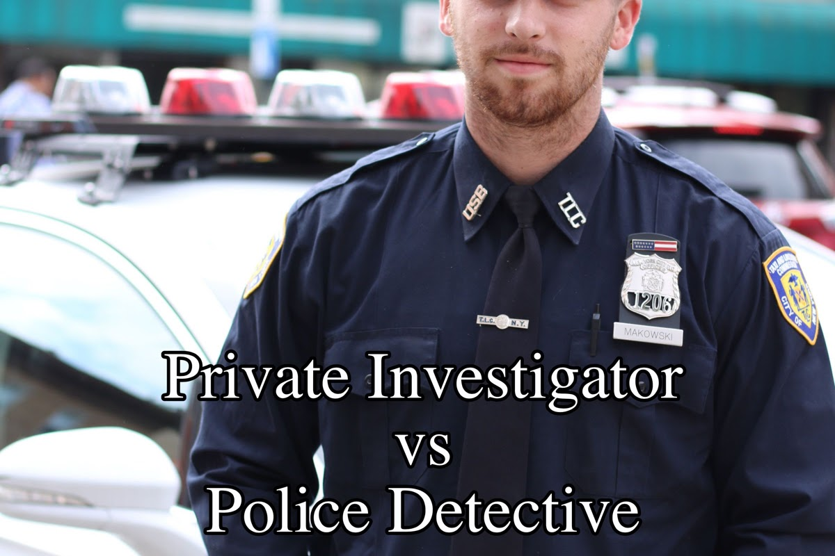 Private Investigator vs Police Detective