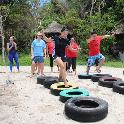 US Embassy 2018 Team Building at Eagle Point Resort