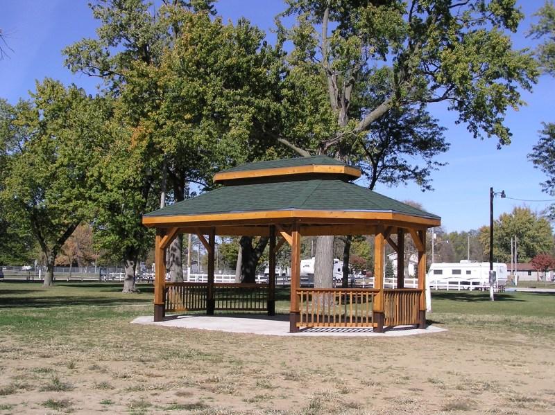 Built a Gazebo for the City Park