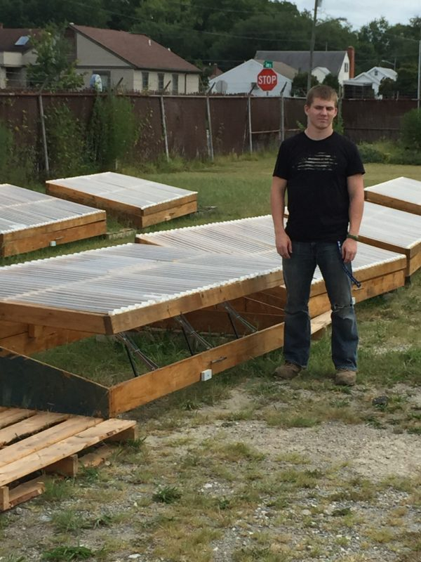 Cold Frames for Homeless Shelter Garden