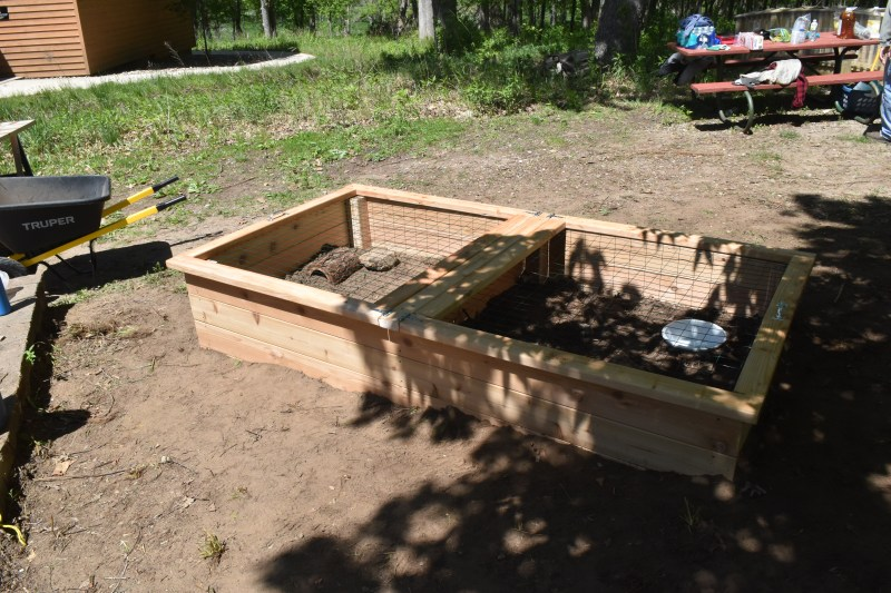 Building a Turtle Pen house for Wickiup Hill Learning Center